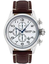 Gigandet Timeless Montre Homme Chronographe Analogique Quartz Marron Blanc G41-003