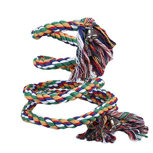 Kicode 1,5 / 2M Loro cuerda mascotas bobina aves Las