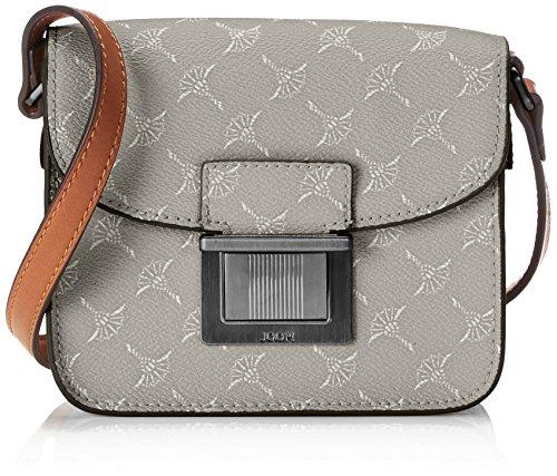 Joop! Damen Cortina Cosima Shoulderbag Xshf Schultertasche, Grau (Light Grey), 5x13x17 cm