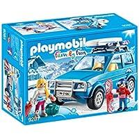 Playmobil-4x4 avec Coffre de Toit, 9281