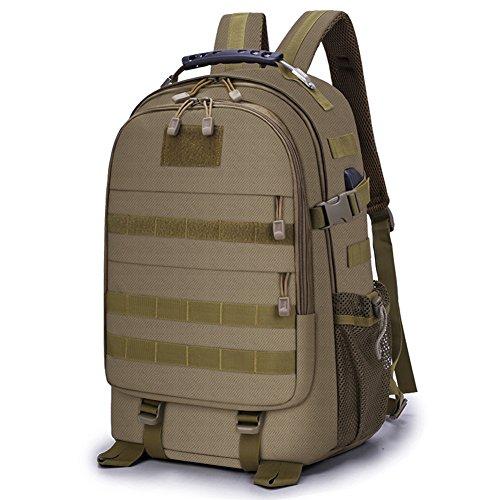 Selighting 35L Rucksack Backpack Mochila Táctica Militar Hombre Mochilas para Portátil 15,6 Pulgadas con Puerto de Carga USB para Trabajo Diario Escuela Viaje