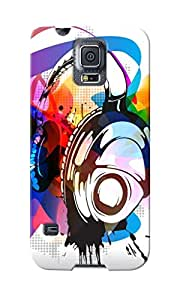 KnapCase Headphones Designer 3D Printed Case Cover For Samsung Galaxy S5