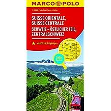 MARCO POLO Regionalkarte Schweiz Blatt 2 Schweiz - östlicher Teil 1:200 000: Zentralschweiz: Wegenkaart 1:200 000 (MARCO POLO Karten 1:200.000)