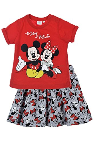 Minnie mouse bambina maglietta + gonna