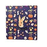 Album Kreative Selbstklebende Fotoalbum Handbuch DIY Film Paar Romantische Album Baby Album Album Kaninchen glückliches Leben Album, Kaninchen glückliches Leben