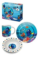 Unbekannt BETA Service el51348 Dory Set da colazione, 3 pezzi, plastica, Multicolore, 15 x 25 x 12 cm