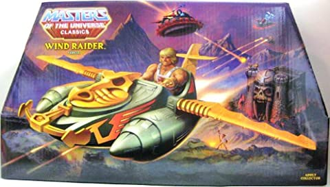 HeMan Masters of the Universe Classics Exclusive Vehicle Wind Raider by Wisconsin Toy (English Manual)