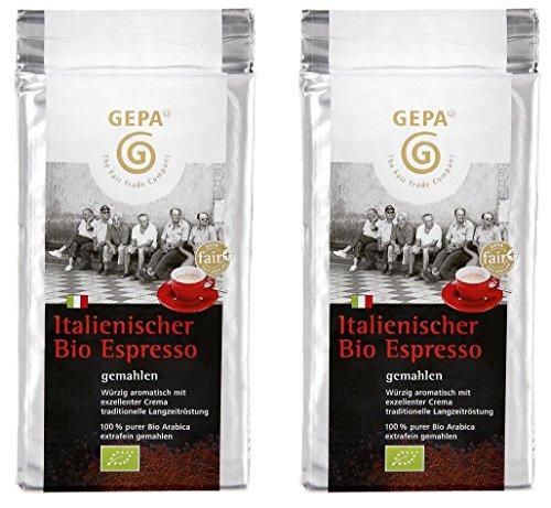 Gepa - Bio Italienischer Espresso - 2x250g
