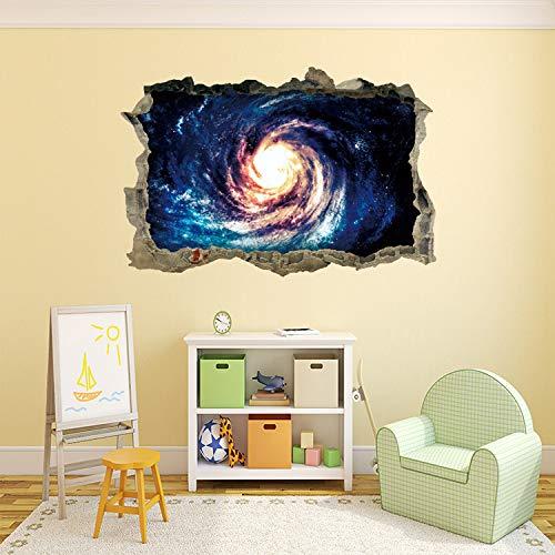 Panel Poster Schlafzimmer Serie (3D Star Universe serie Gebrochen aufkleber für kinder baby zimmer schlafzimmer home decoration aufkleber bild poster aufkleber auf die c2 30x40cm)