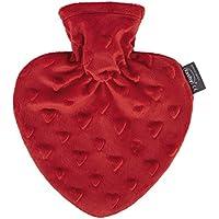 fashy Herzwärmflasche mit Bezug im Herzdesign preisvergleich bei billige-tabletten.eu