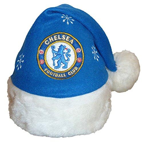 Chelsea F.C. Chelsea FC Football Club Santa Christmas Hat