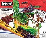 K'Nex 36189 - BAU- und Konstruktionsspielzeug Set Dragon's Revenge Roller Coaster, STEM Baukasten für motorisierte Achterbahn mit leuchtenden Drachen, Bauset mit 650 Teilen, Fuer Kinder ab 7 Jahre