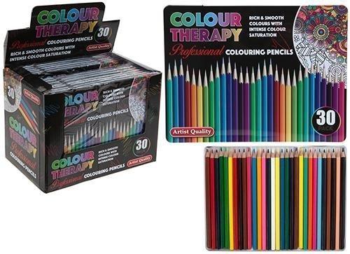 Pdf Link 30pc Asst Colour Therapy Coloured Pencil Professional