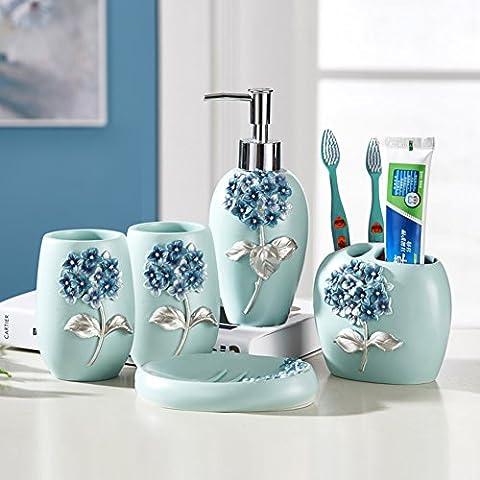 salle de bain toilette ornements/Tasse de support de brosse à dents salle de bain set de