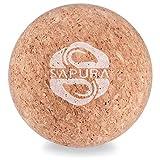 SAPURA Faszienball Kork ✓ Lacrosse Ball ✓ Naturmaterial ✓ Triggerpunkt Ball ✓ Hautfreundlich ✓ Massageball Roller ✓ Faszienkugel ✓ Trigger Ball + E-Book