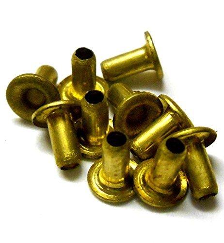 L11354 4mm x 1.3mm x 4.48mm Rondelle Bronze Insert Douille Bague 10 4x1.3x4.48