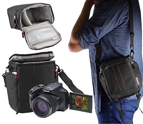 Navitech Schwarz Digitalkamera Tragetasche und Reisetasche kompatibel mit Nikon D500 Body Single-Lens Reflex Digital Camera Digital Single Lens Reflex