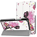DETUOSI Huawei MediaPad T3 8.0 Zoll Cover Case,PU Leder Tasche Smart Cover Case für Huawei MediaPad T3 (8 Zoll) Tablet mit Standfunktion