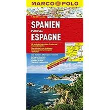 MARCO POLO Länderkarte Spanien, Portugal 1:800.000 (MARCO POLO Länderkarten)