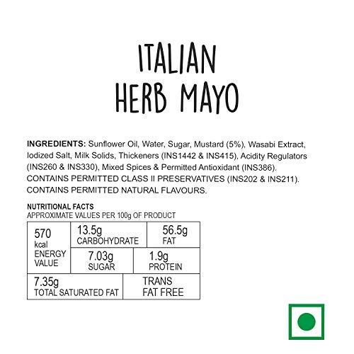 Wingreens Farms Italian Herb Mayonnaise, 130g