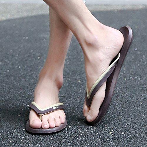 Tongs, sandales dété pour hommes, des salles de bain, tongs, chaussures de plage gray