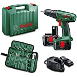 Bosch PSR 14.4 - cordless combi drills (Lithium-Ion (Li-Ion), 14.4 V, 1.500 kg, Black, Green)