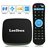 TV BOX Android 7.1 - Leelbox Q1 Smart TV Box Quad Core, 1GB RAM & 8GB ROM, 4K*2K UHD H.265, HDMI, USB*2, WIFI Media Player, Android Set-top Box