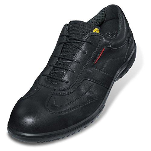 Uvex Casual Business protagonista, scarpe, 9510,2 S1 P SRC Nero (nero)