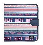 Roxy What A Day Carpeta de 4 Anillas, Mujer, Verde/Blanco (Bright White AX Boheme Border), Talla Única