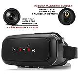 PLAYVR - Adjustable lenses - VR HEADSET with Best HD OPTICAL RESIN LENSES