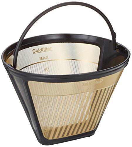 GF4S seleXions Goldfilter groß 6-12 Tassen mit antihaft Titanhartschicht, mit Skalierung 6-12 T