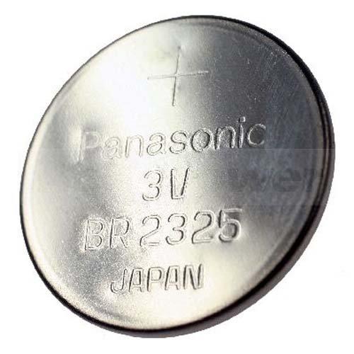 Panasonic BR2325, CR2325 au lithium de batterie, 165mAh