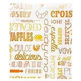 "Tüten Croissants""Parole"" 32 G/M2 12+5X14 Cm Weiss Zellulose - 6000 Un."