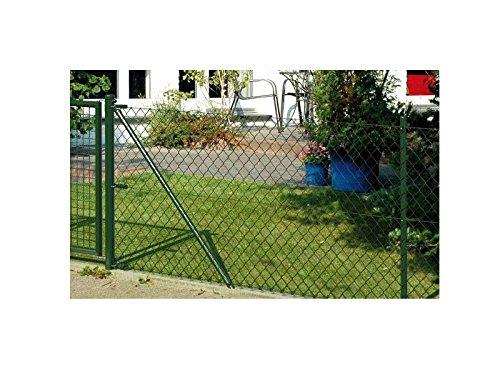 Preisvergleich Produktbild Maschendrahtzaun Zaun-Komplett-Set Powertec Garden Beliebig erweiterbar