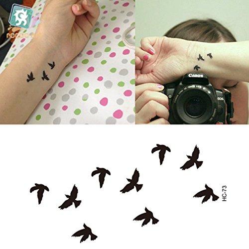 erospar-tattoo-bogen-temporar-aufkleber-vogel-birds-schwarz-105-x-6-cm