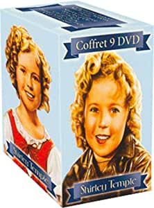 Coffret Shirley Temple 9 DVD : Capitaine Janvier / Mamzelle Vedette / Heidi / Shirley aviatrice / Boucles d'Or / Fossettes / Ching Ching / Pauvre petite fille riche / Our Little Girl