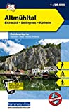 Deutschland Outdoorkarte 38 Altmühltal 1 : 35.000: Eichstätt-Beilngries-Kelheim. Wanderwege, Radwanderwege, Nordic Walking (Kümmerly+Frey Outdoorkarten Deutschland) -