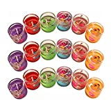 #5: PeepalComm Small Gel Pencil Candle (Set of 18 PC)