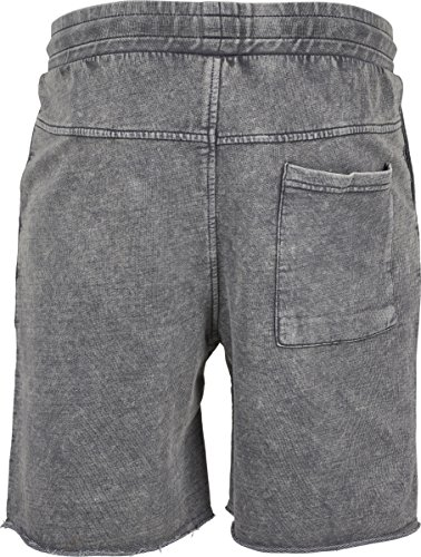 Urban Classics Herren Vinage Terry Shorts Grau (Grey 00111)