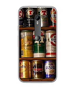 Fuson Designer Back Case Cover for Motorola Moto X Style :: Moto X Pure Edition (Container Shelfs Foodstuffs Foodies Food )