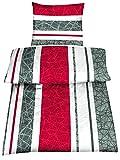 Microfaser Bettwäsche Set 2 Größen viele schöne Designs, 135x200 cm Kissenbezug 80x80 cm Joris Wende
