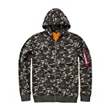Alpha Industries X-Fit Zip Hoodie Camouflage XXL