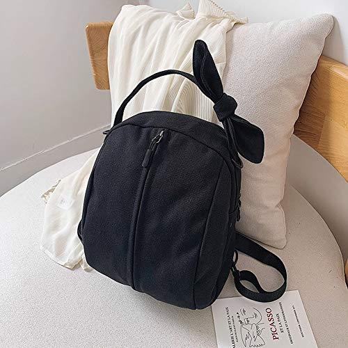 GYYlucky Neue Leinwand ins Umhängetasche weibliche koreanische Version der Mode Mutter Bogen Rucksack (Color : C) -