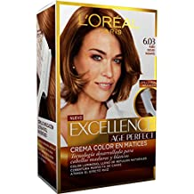 L'Oreal Excellence Age Perfect Coloración permanente, Tono: 6.03