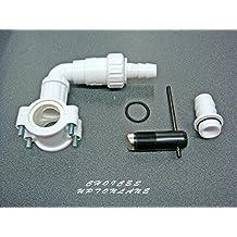 Drenaje de distancia AUTO Kit de corte de tuberías de desagüe para lavadora lavavajillas y secadoras