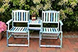 Loveseat Klappbank Destiny Bank Marsala Gartenbank Gartenessel mit Tisch Colors