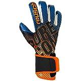 Reusch Pure Contact 3 G3 Fusion, Guanti Unisex-Adulto, Noir/Orange/Bleu, XL (Taglia del Produttore : 10.5)