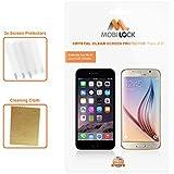 Apple iPhone 3/3GS Film Protecteur d'Ecran Transparent (Pack de 3) - by Mobi Lock®