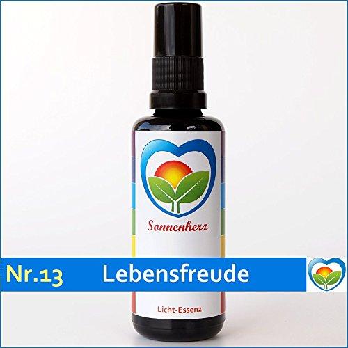 Energetische & feinstoffliche Lichtessenz Nr. 13 Lebensfreude von Sonnenherz - Sonnenessenz, Auraspray, informierte Auraessenz
