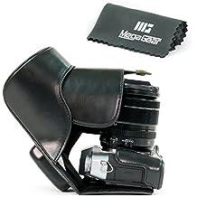 MegaGear Bolsa de Funda Protectora Para Fujifilm X-T10, Fujifilm X-T10 con 16-50mm o 18-55mm Cámara Compacta (Negro)